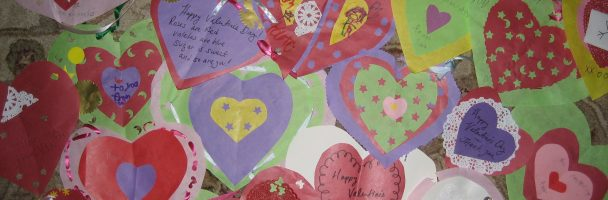 Valentines for Soldiers and Senior Citizens