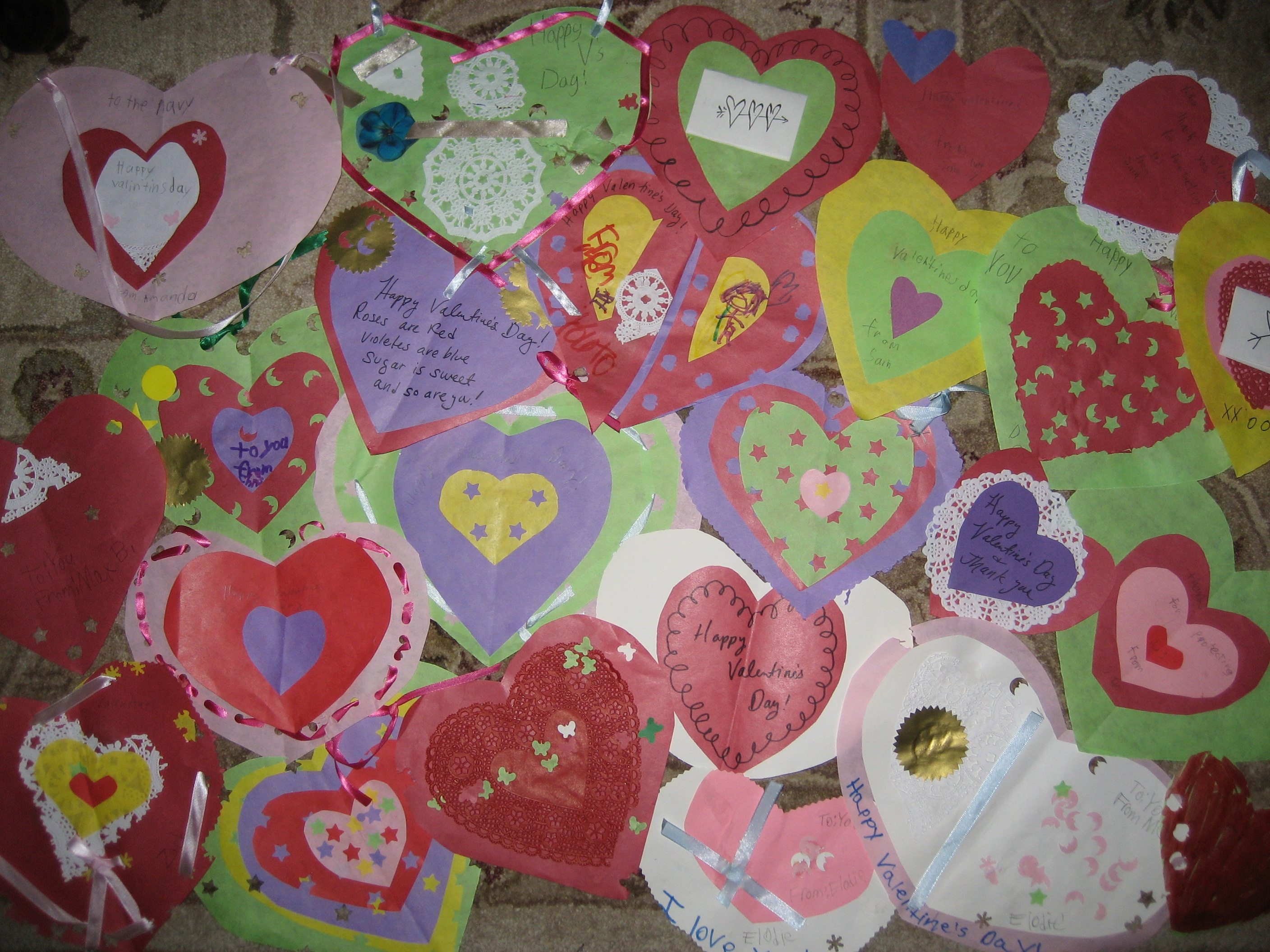 Valentines For Soldiers And Senior Citizens Art Sphere Inc