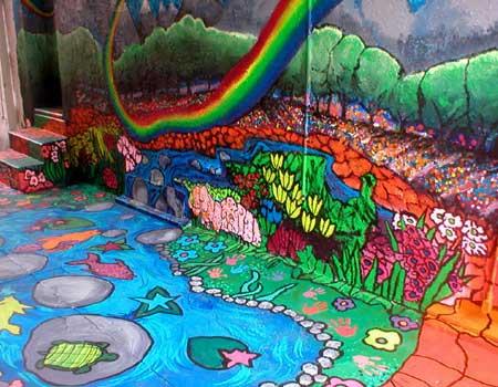 Building Classrooms Through Art at Cornelia's Neighbors