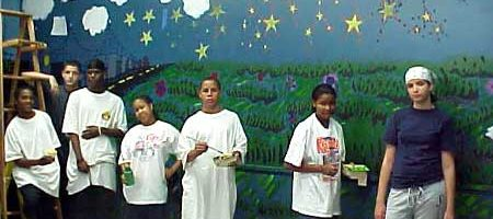 Promoting Career Development Through Art at Frankford High School