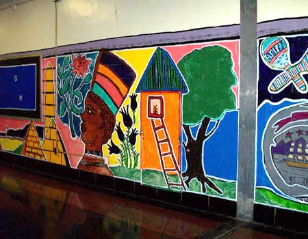 Tolerance Murals-South Philly HS