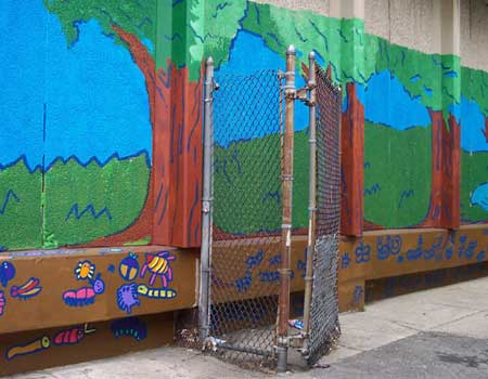 Building A Playground Through Art at Southwest Family Center
