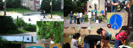 Grays Ferry Lot Transformed into Peace Park
