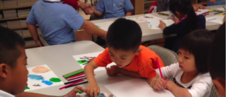 Teaching at Tzu Chi Center