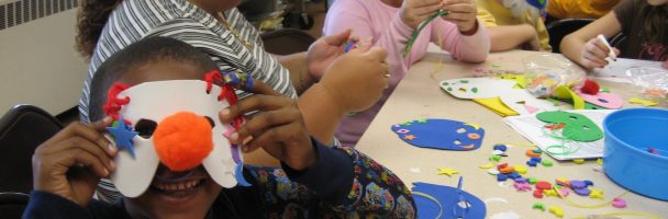 Cultural Awareness and Mask-Making Thru Art at the Fishtown Library