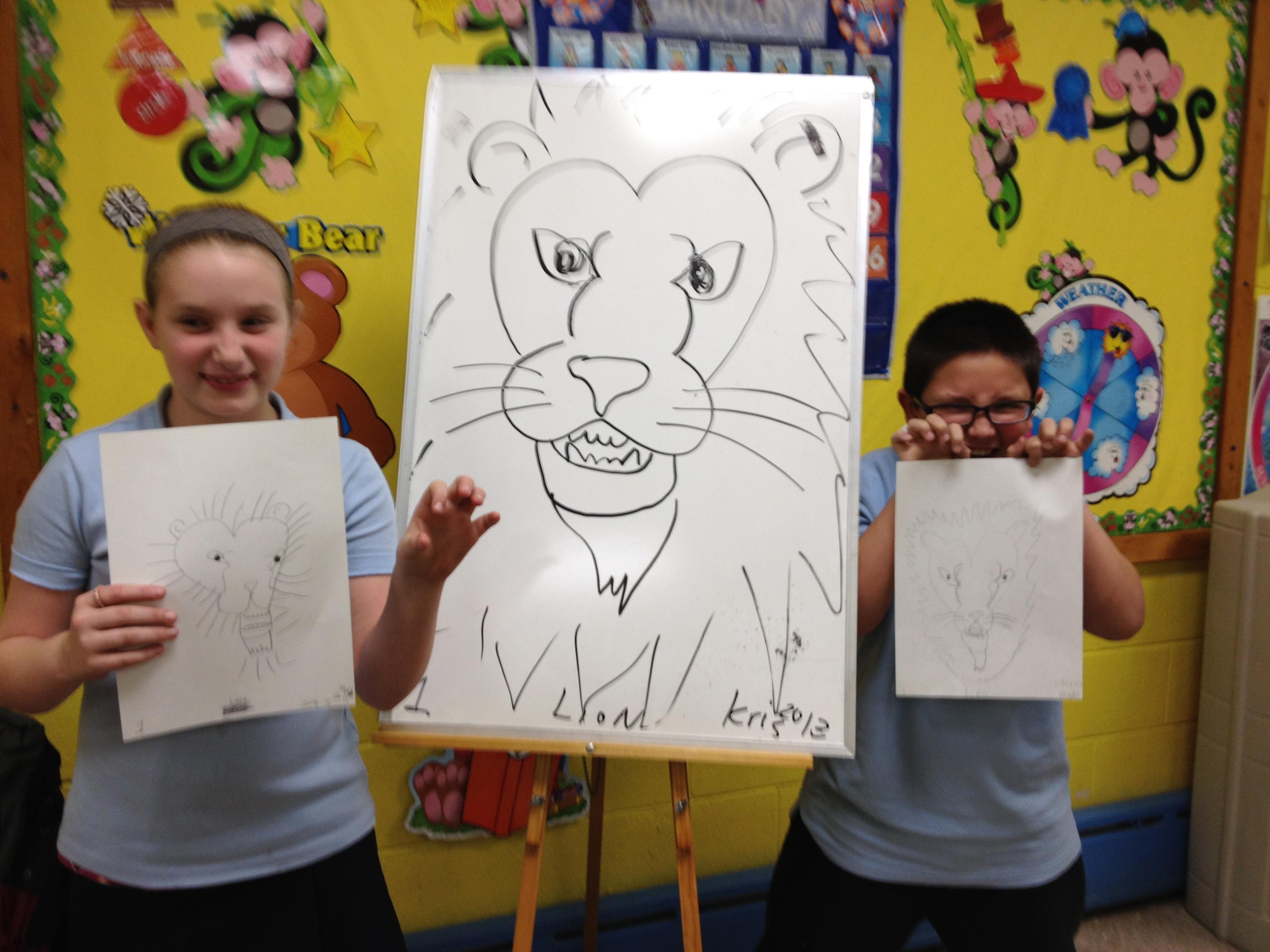 Animal Coloring Book Drawing Workshops