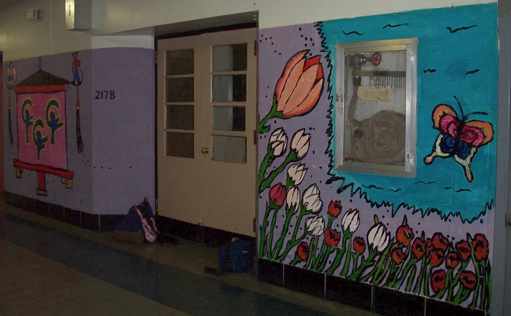 Diversity Through Art at South Philadelphia High School