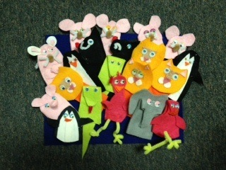 Puppet Show Art Lesson: Be Kind to Eachother