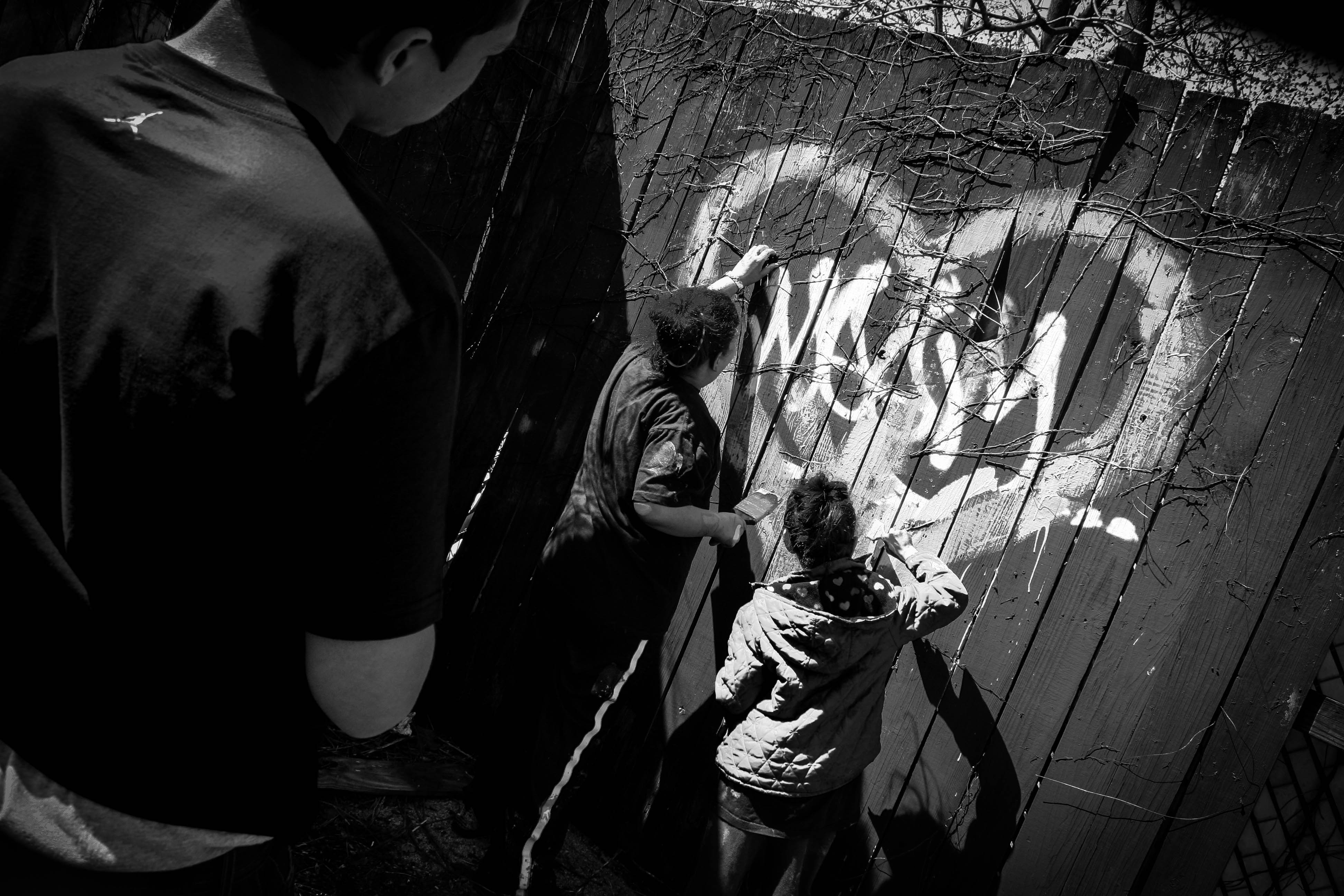 Making Graffiti into Something Else