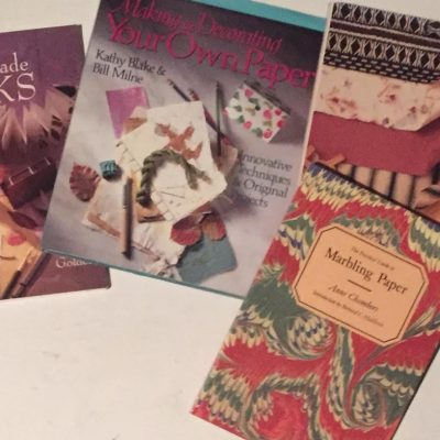 Bookmaking and Paper making Books from ASI Library