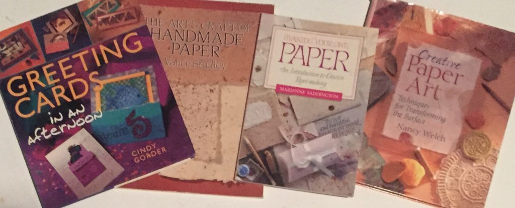 Card and Paper making Books from ASI Library