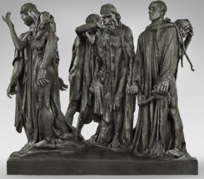 The Burghers of Calais Auguste Rodin