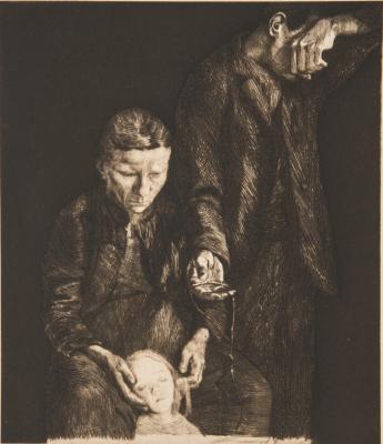 The Downtrodden by Kathe Kollowitz