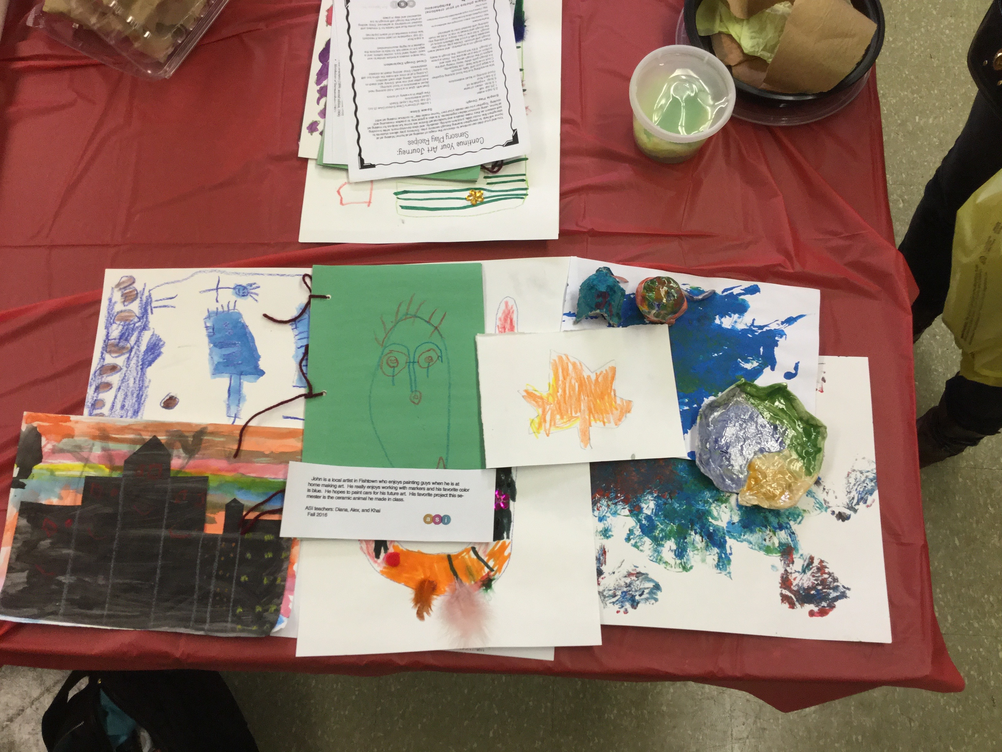 Art Show at Fishtown Rec Center