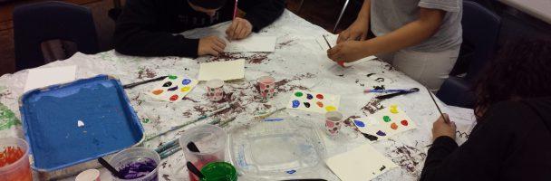 Penn Treaty Students Explore Color Theory