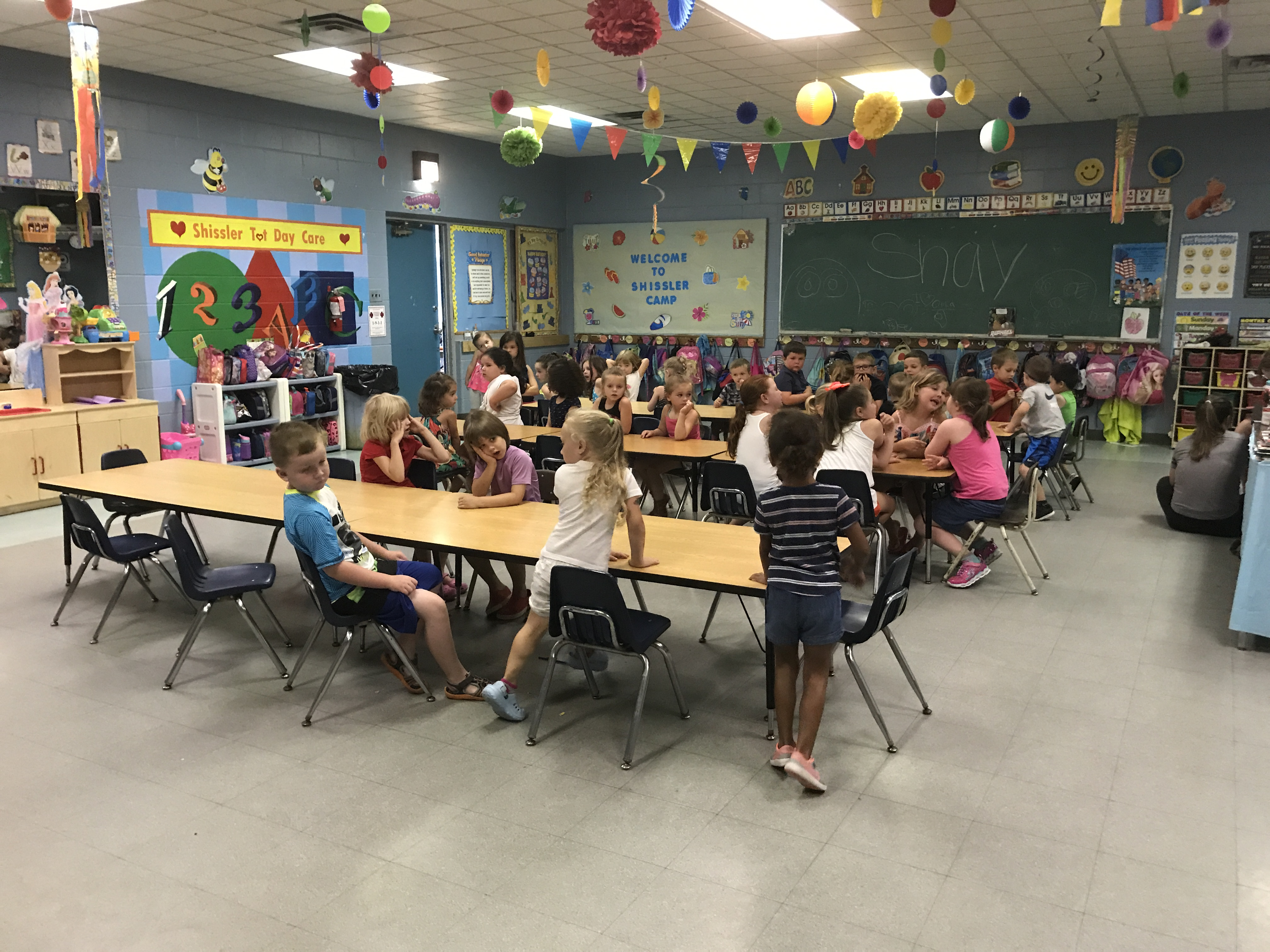 Glavin and Shissler Recreation Centers – First Week