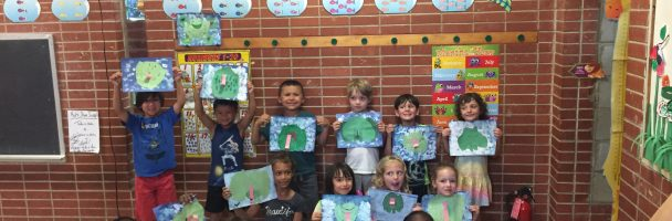7/17 Fishtown and Cione Rec centers: Fish, Frogs, Cherry Blossoms and Postcards