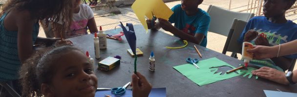 Nelson Week 2: Making Flowers From Traced Hands