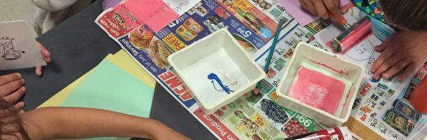 Teaching Printmaking at Fishtown and Cione