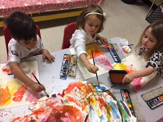 The color wheel creates Butterflies, Oysters, and Spider Webs