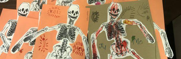 Skeletons at Towey!