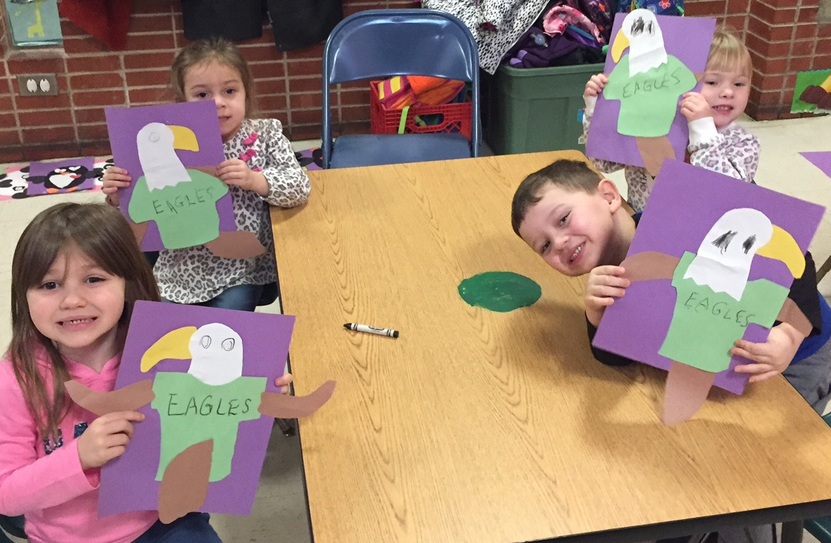 Eagle Art Projects for Young Eagles Fans