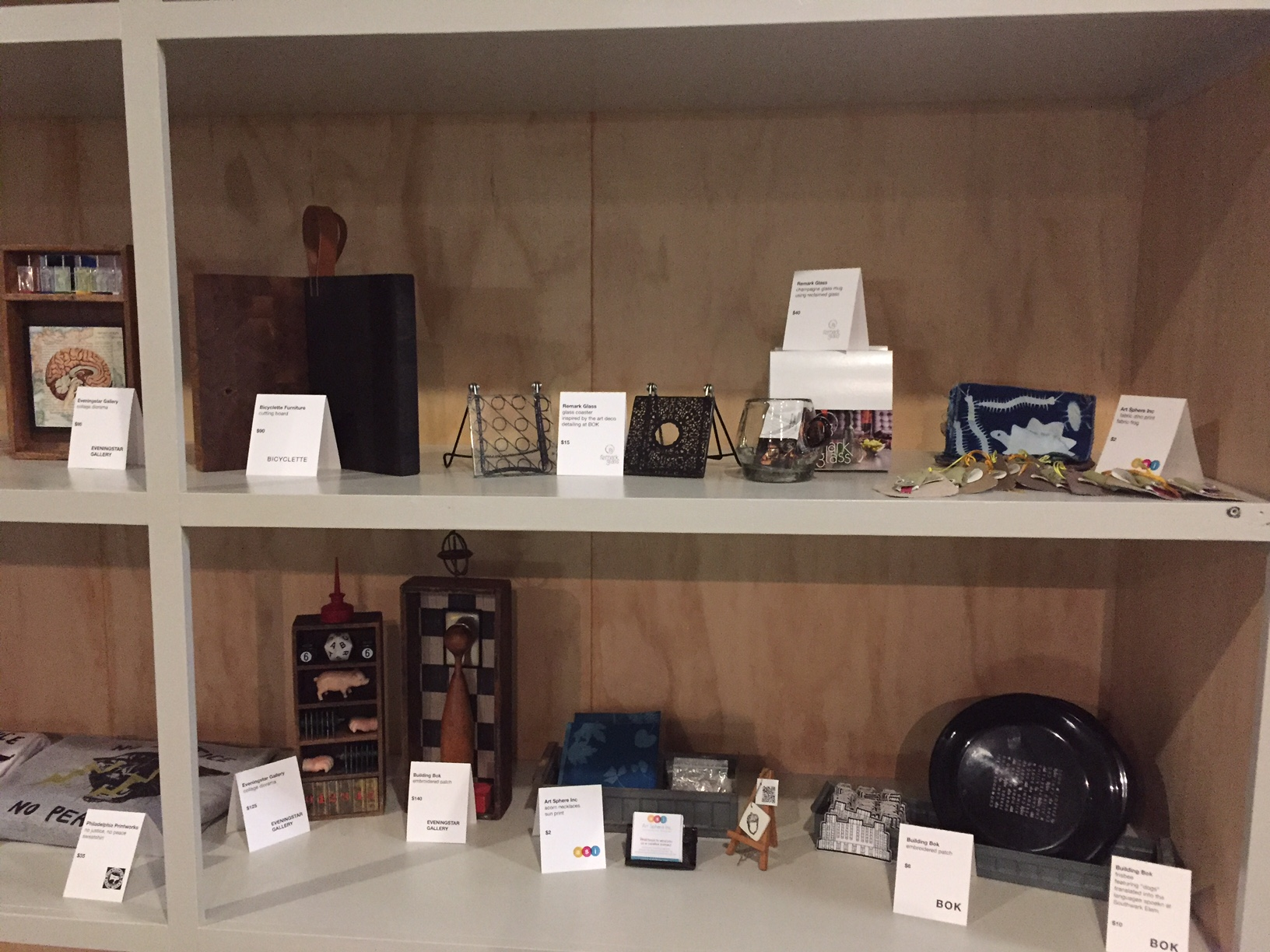 ASI Items for Sale at Bok Cafe