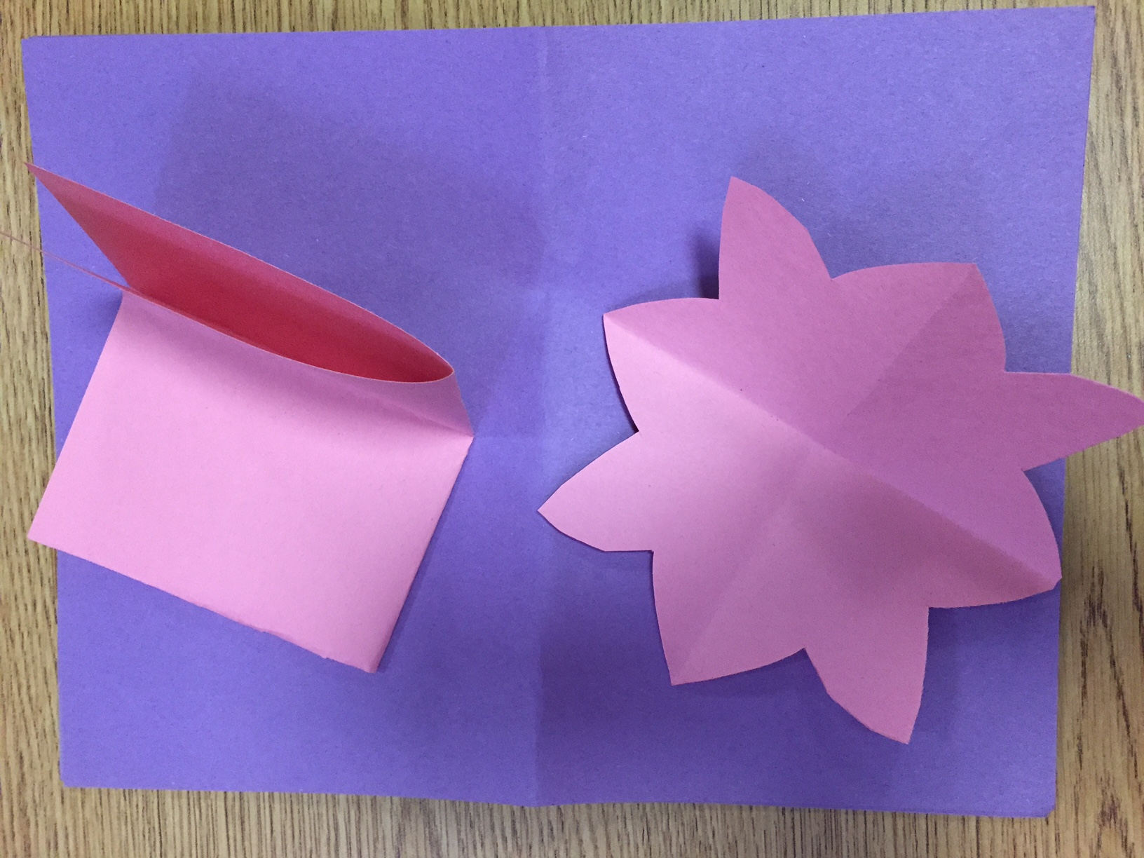 How to make a water lily out of construction paper art sphere inc how to make a water lily out of construction paper izmirmasajfo