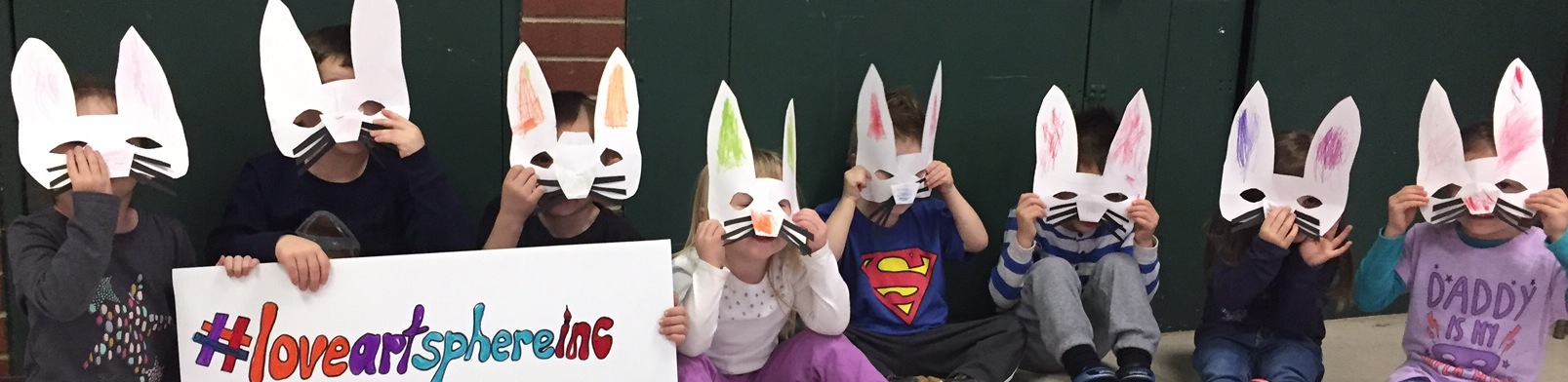 Art, Exercise and Free Bunny Masks