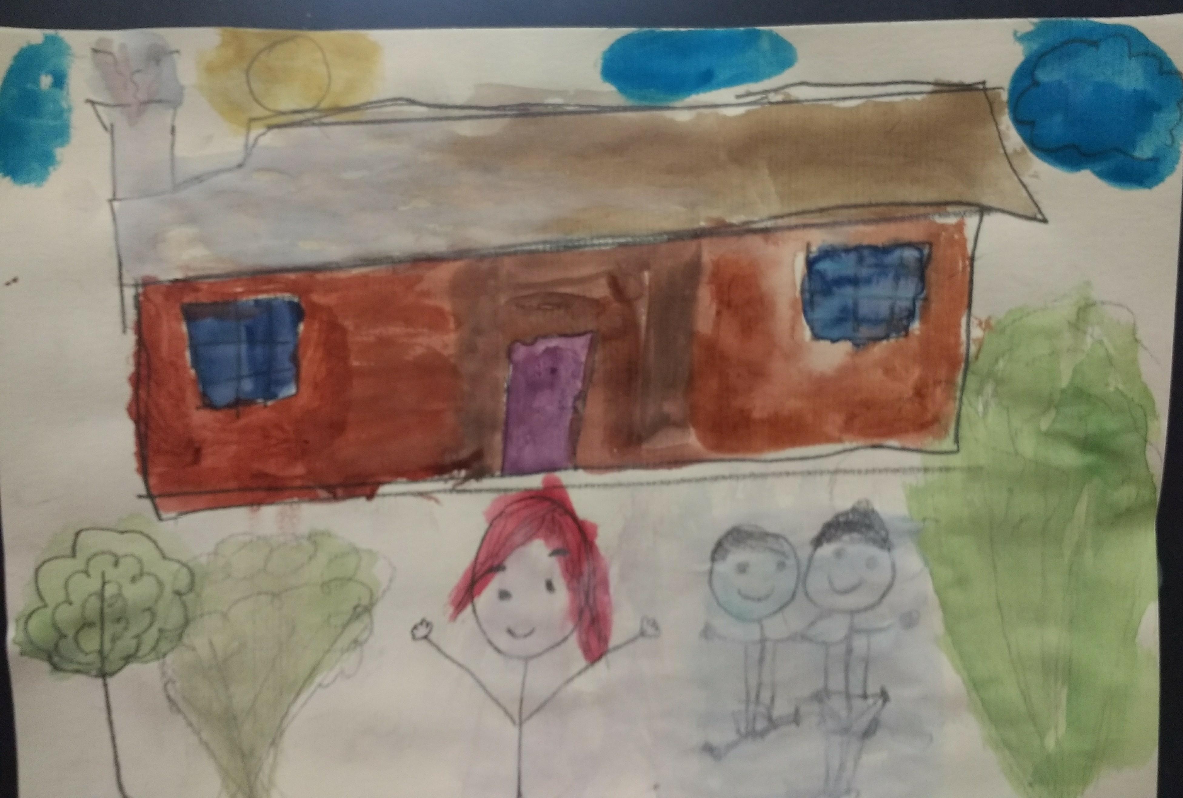 Watercolors and Happy Memories