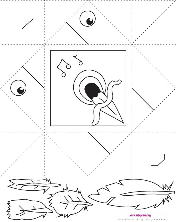 Try Out This Free Origami Bird Handout