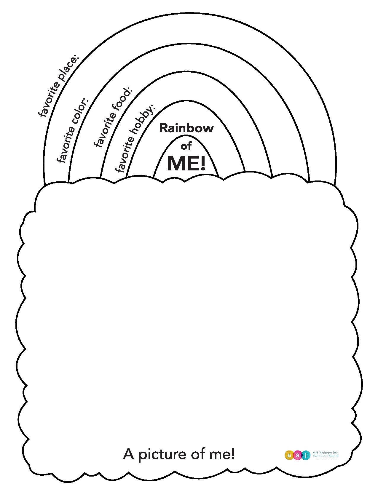 Free Lesson Plan: Rainbow of Me!