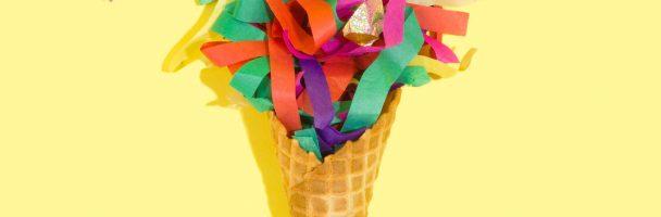 Ice Cream Collage Handout