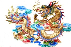 Chinese New Year Group Dragon