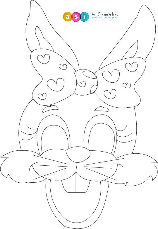 Free lesson plan: Rabbit mask