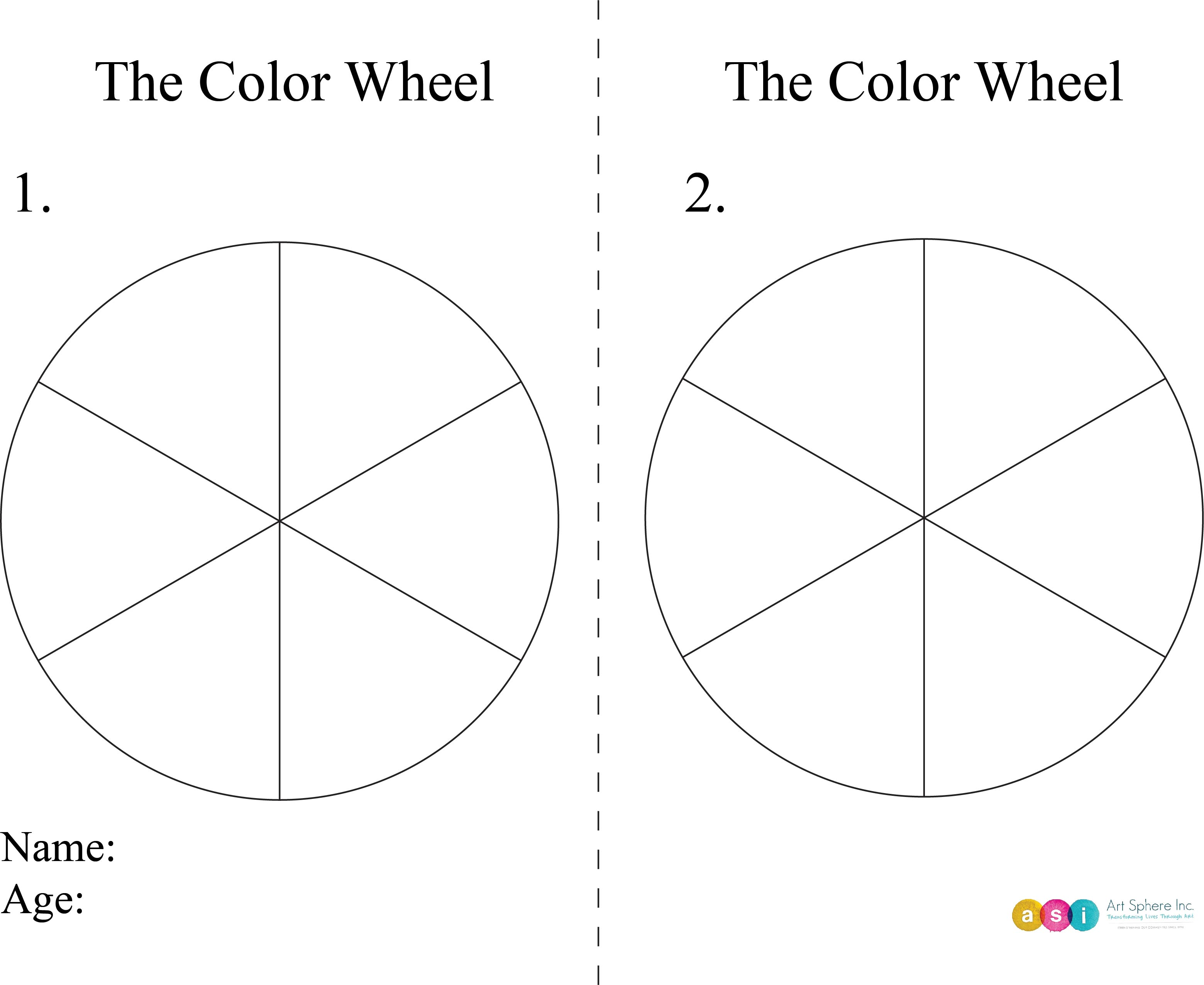 Free Lesson Plan: The Color Wheel