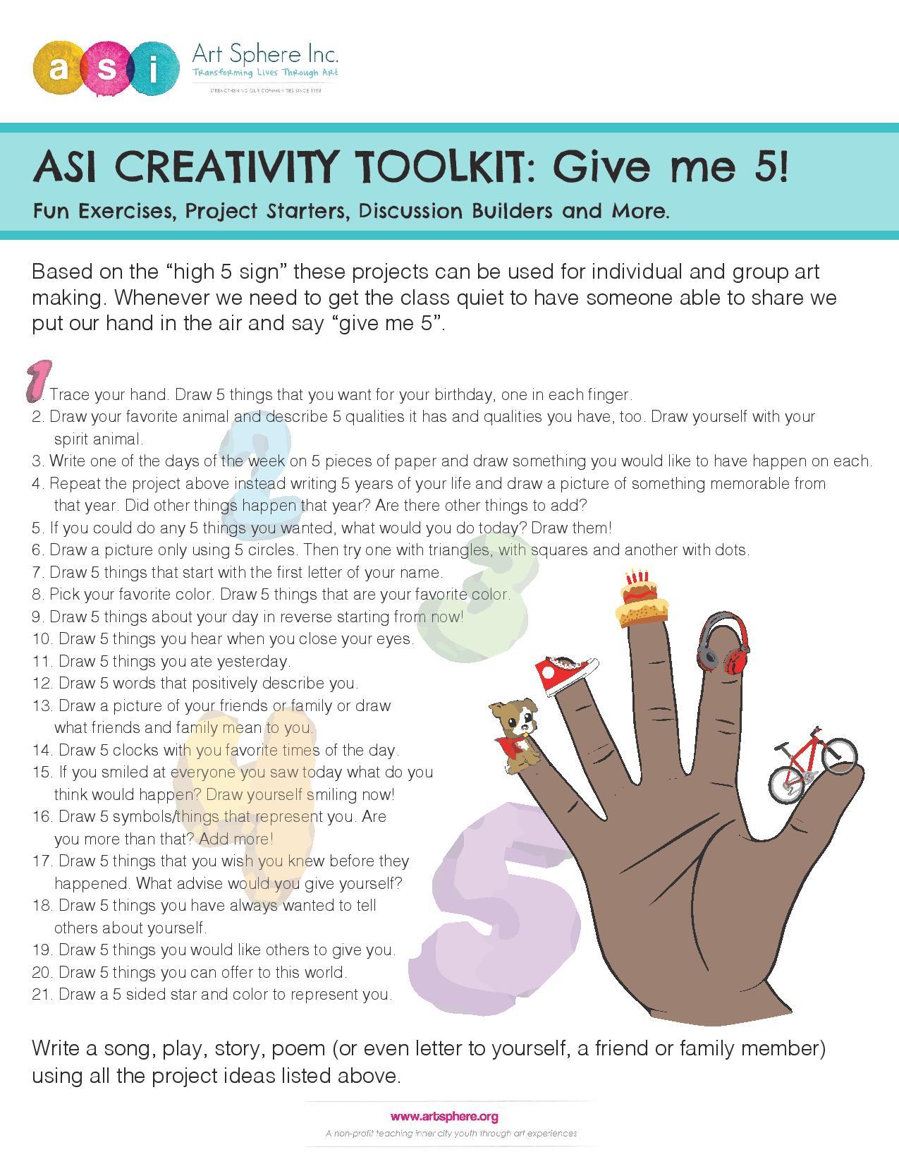 ASI Creativity Toolkit Handout