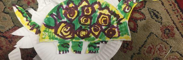Dinosaur Paper Plate Lesson Plan