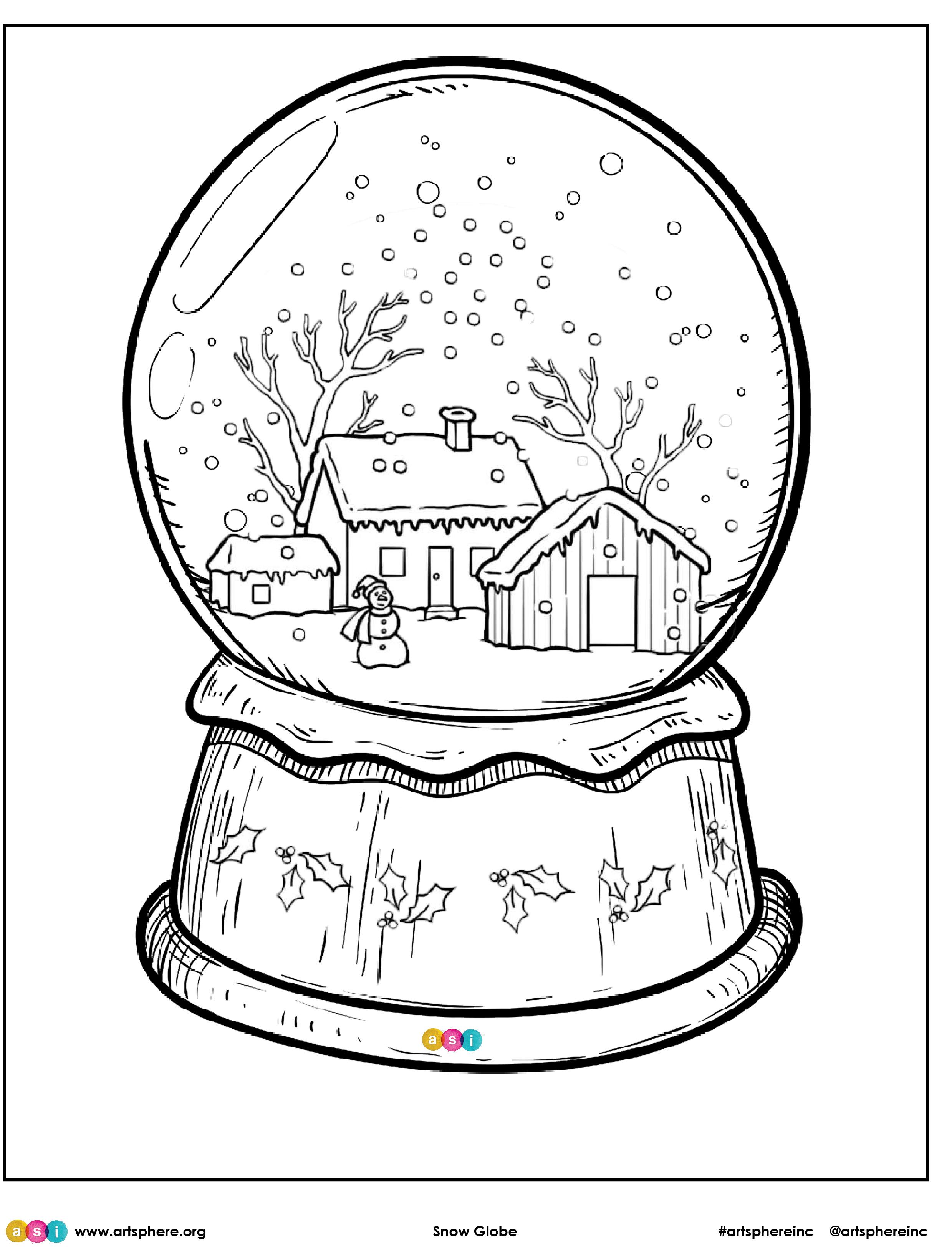 Free Lesson Plan: Snow Globe