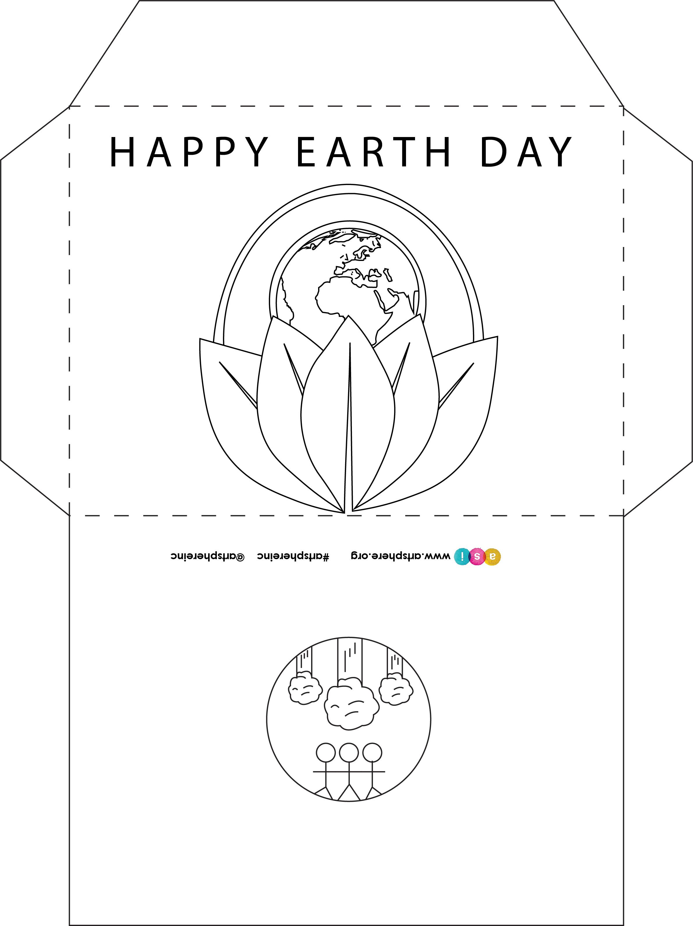 Free Lesson Plan: Earth Day Envelope