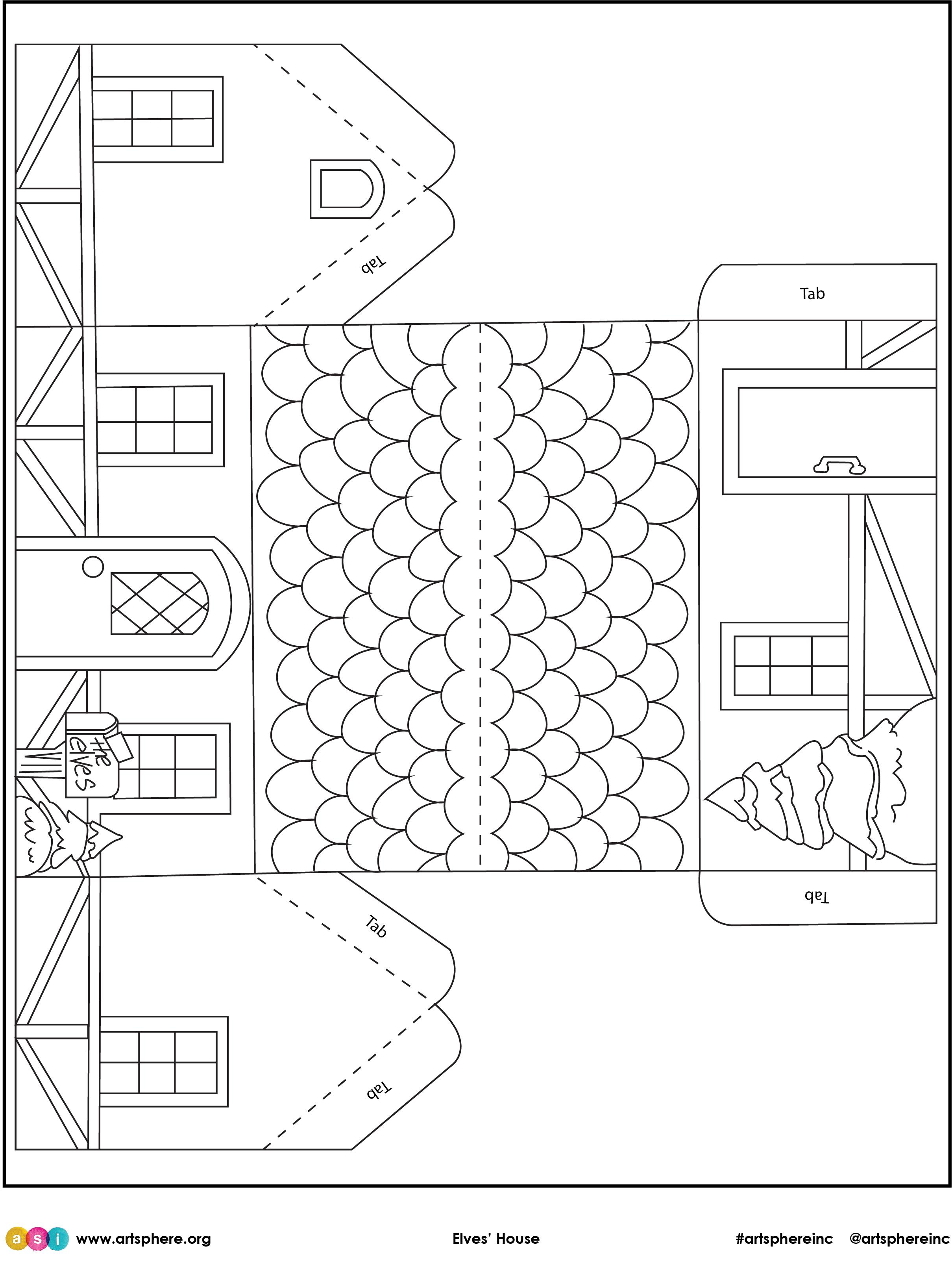 Free Lesson Plan: Elves' House Handout
