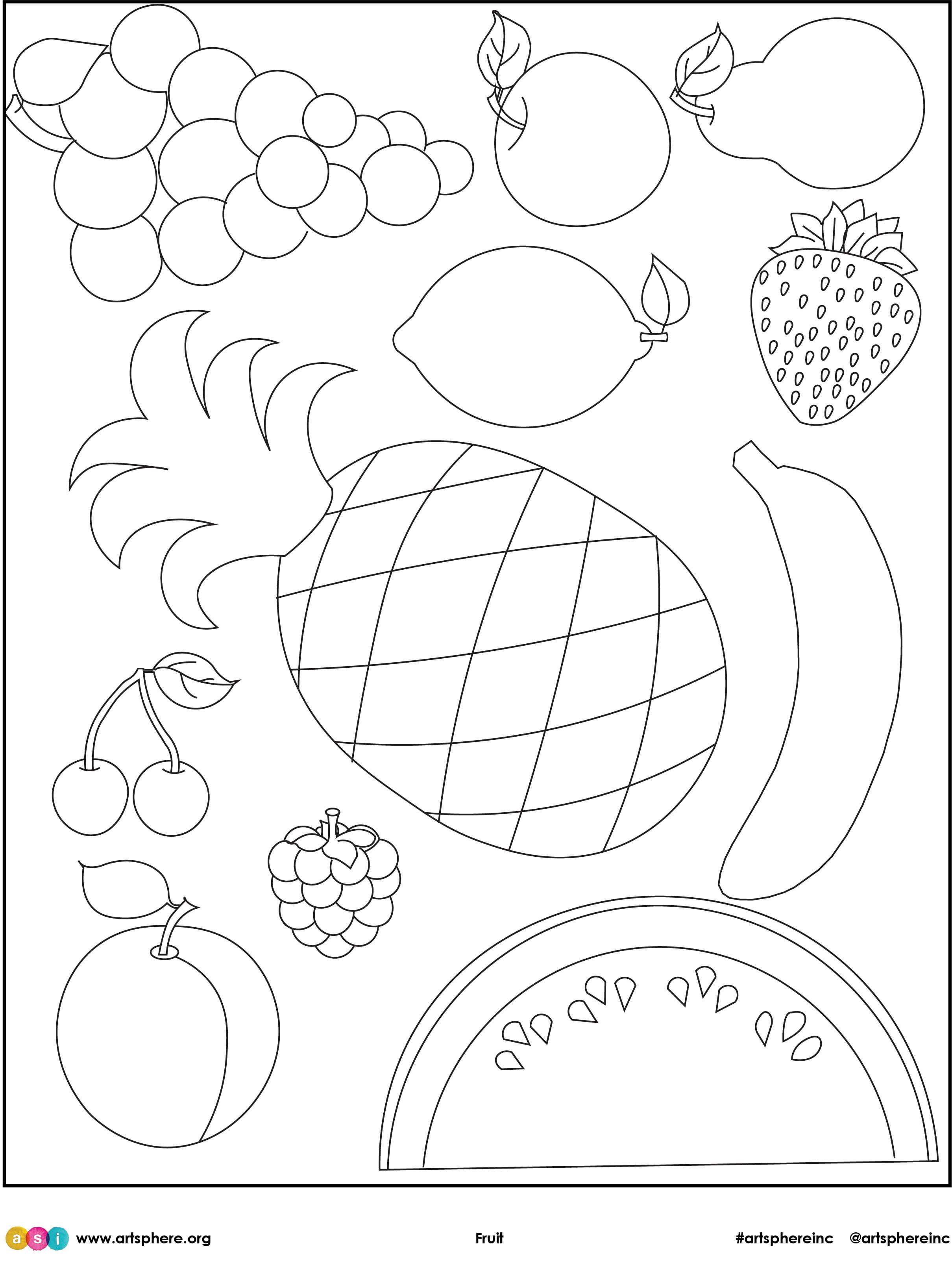 Fruit Handout