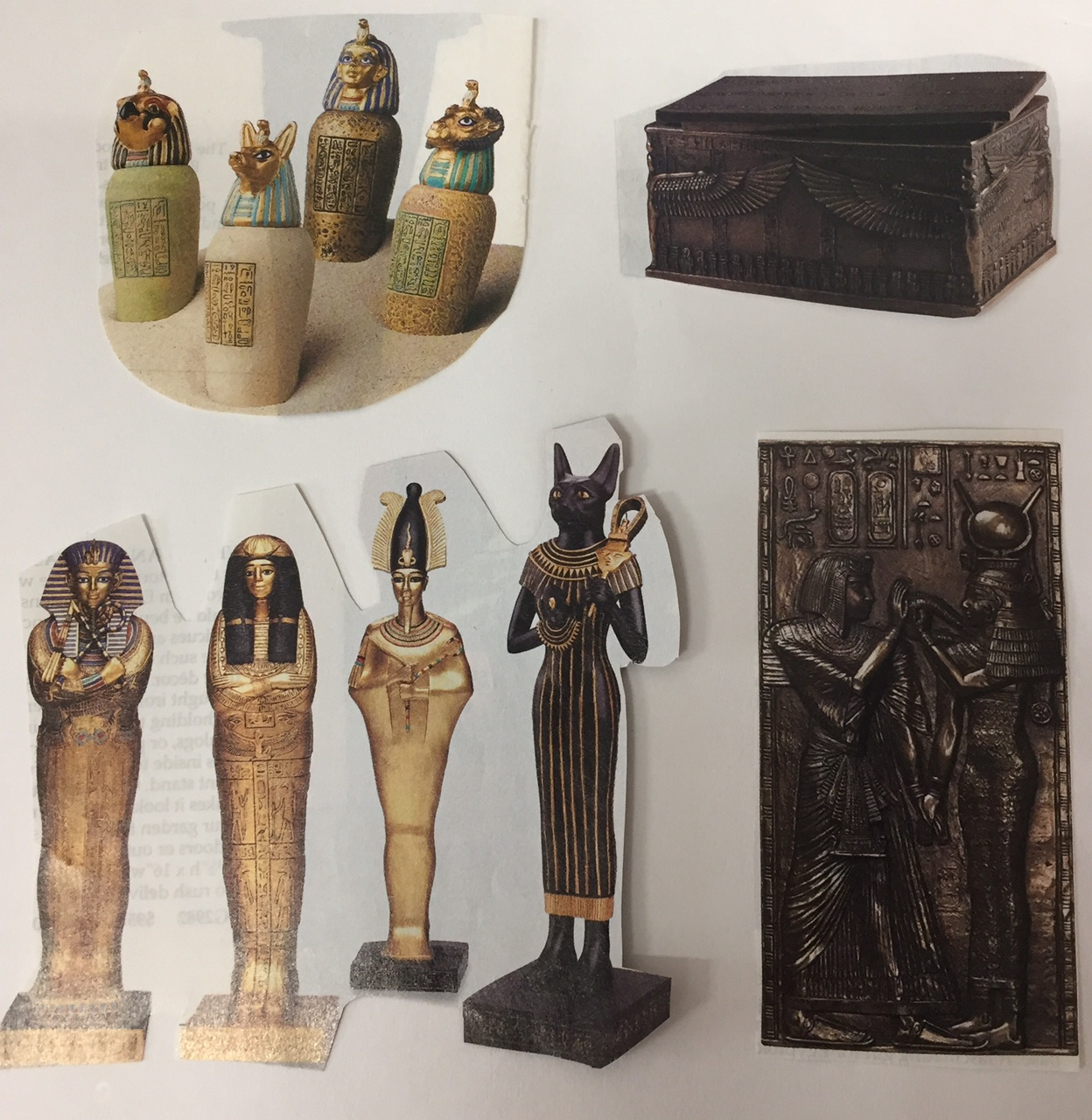 Egyptian Bas Relief and Sculpture Lesson Plans
