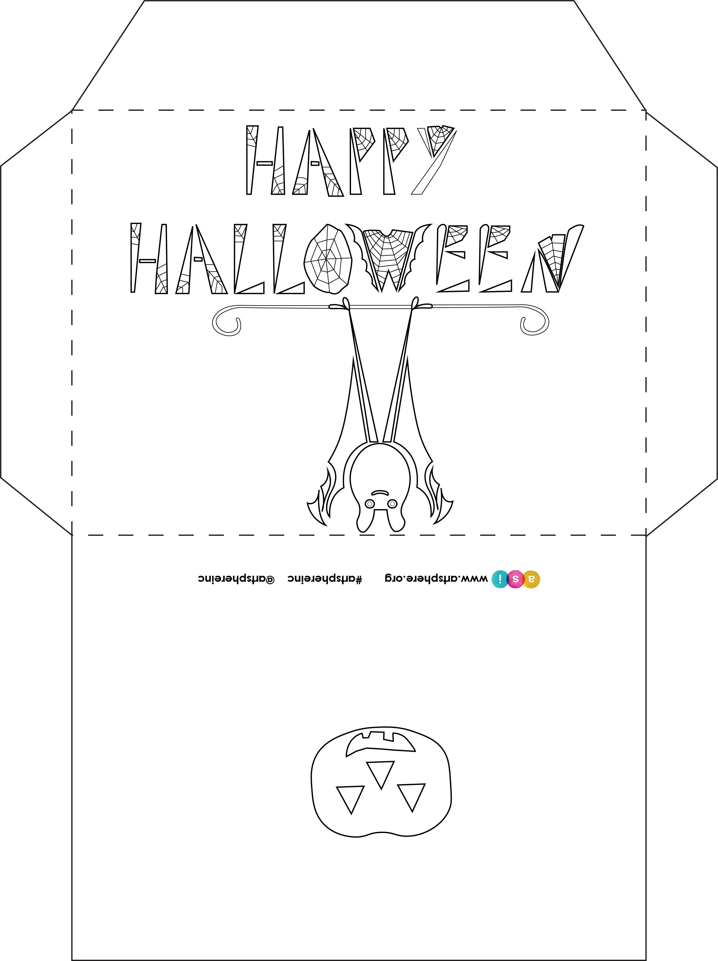 Halloween Envelope Handout