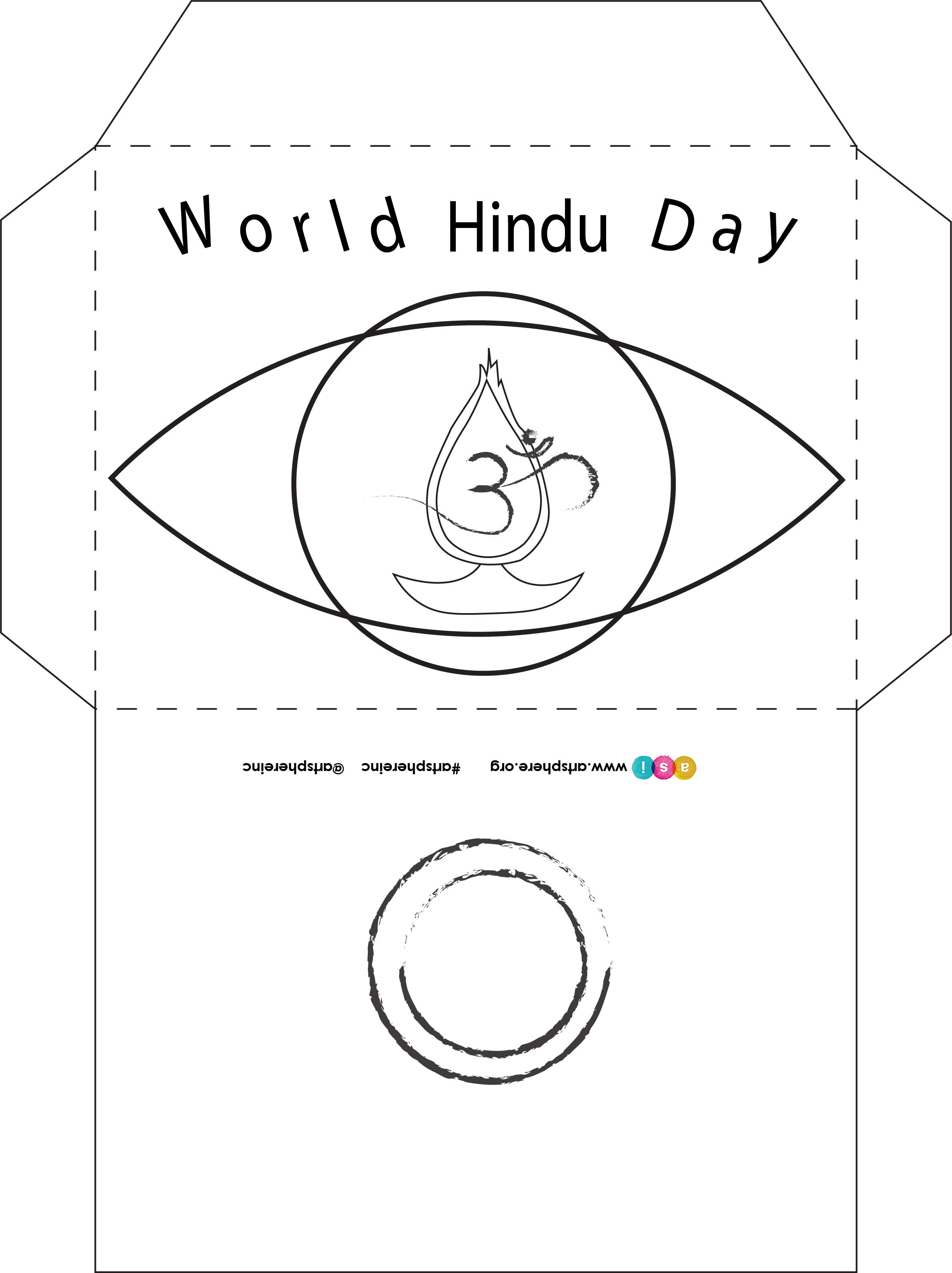 World Hindu Day Envelope Handout