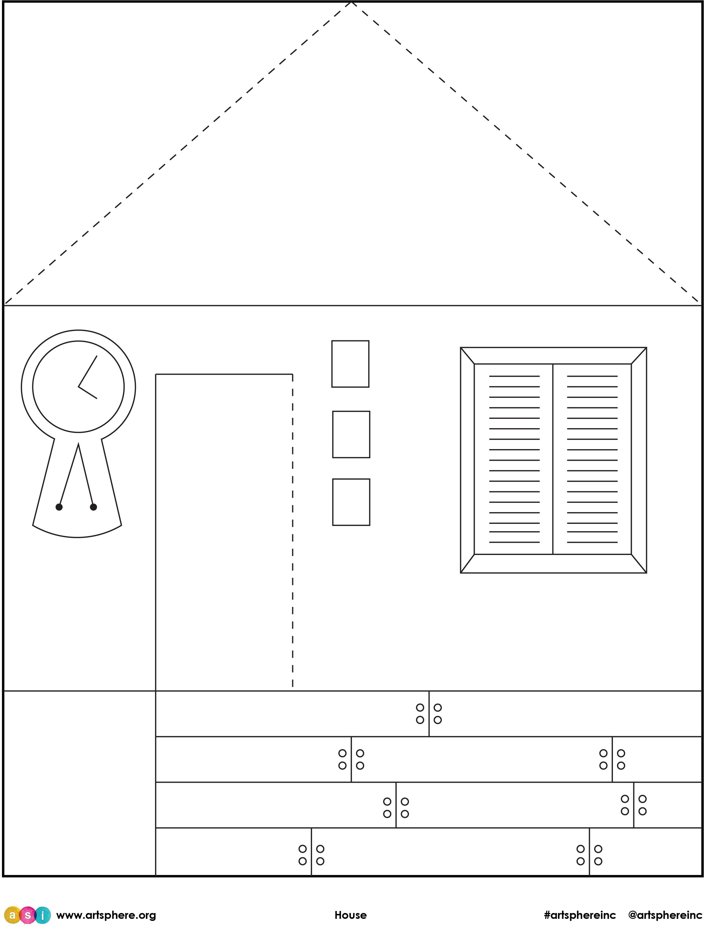Free Lesson Plan: House Handout