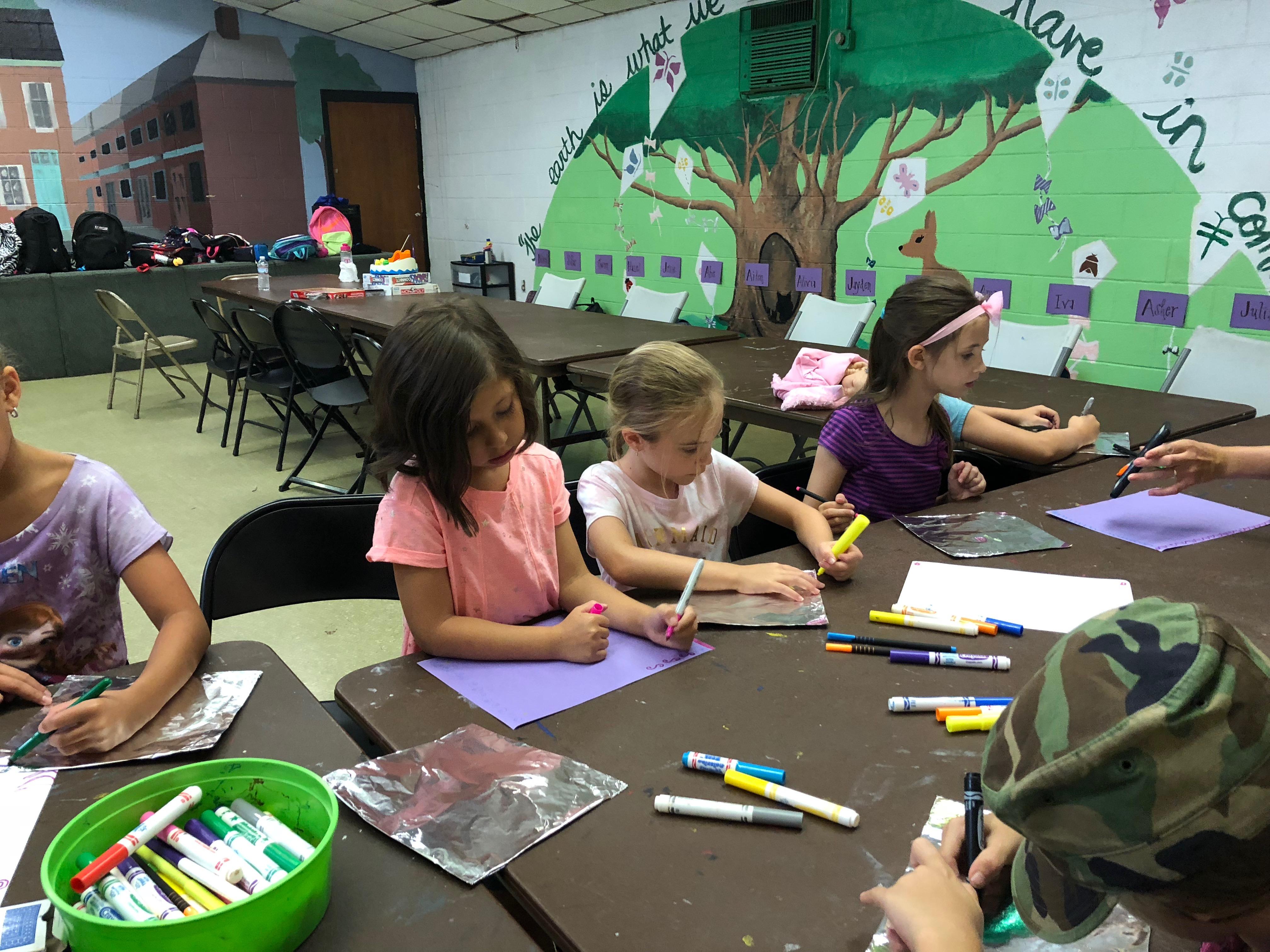 Exploring Media and Materials at Fishtown Rec
