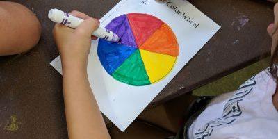 Rainbow Color Test
