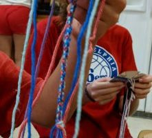 Circle Loom Woven Friendship Bracelet – Finishing