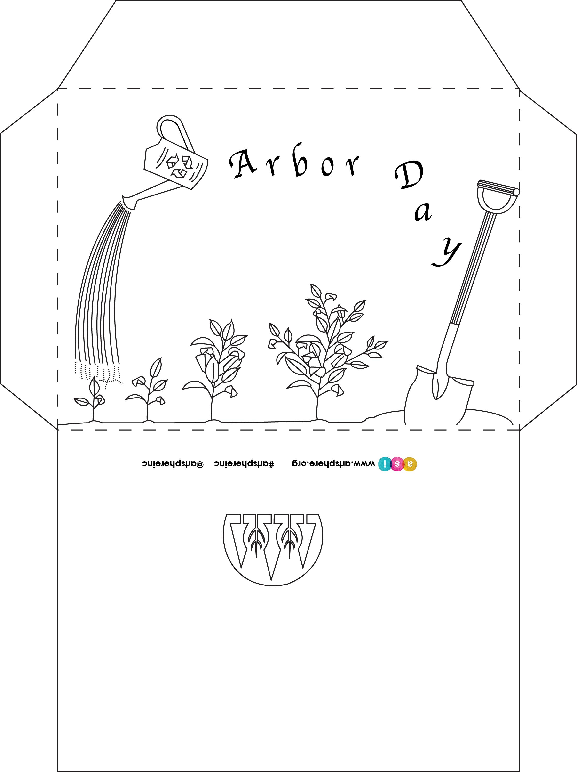 Free Lesson Plan: Arbor Day Envelope
